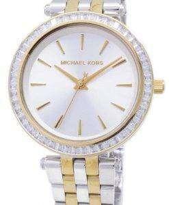 ミハエル Kors ミニ Darci 2 トーンの結晶 MK3405 レディース腕時計