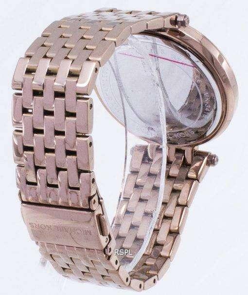 ミハエル Kors Darci 舗装石英 MK3416 レディース腕時計