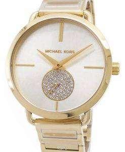 ミハエル Kors ポーシャ ダイヤモンド アクセント石英 MK3639 レディース腕時計