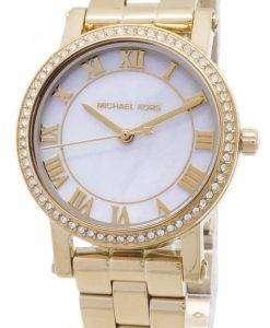 ミハエル Kors 小柄な恵水晶ダイヤモンド アクセント MK3682 レディース腕時計