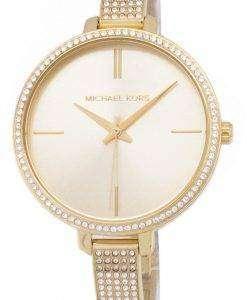 ミハエル Kors エミリア結晶 MK3784 クォーツ レディース腕時計