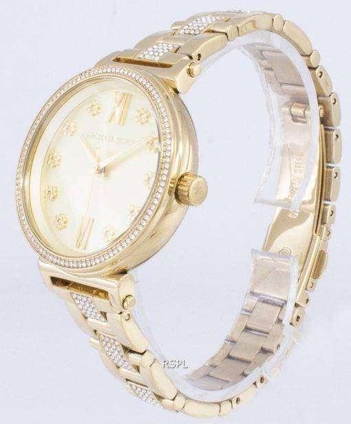 ミハエル Kors ソフィー MK3881 クォーツ レディース腕時計