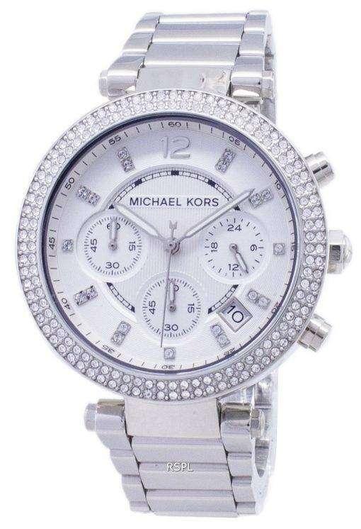 Michael Kors パーカー結晶クロノグラフ MK5353 レディース腕時計