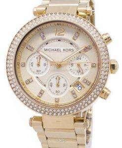 Michael Kors パーカー華やかさクロノグラフ結晶 MK5354 レディース腕時計