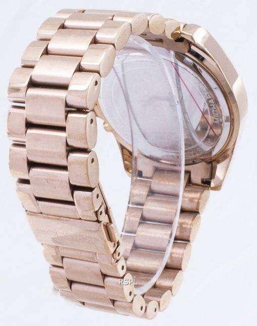 Michael Kors Bradshaw クロノグラフ ローズ ゴールド トーン MK5503 レディース腕時計
