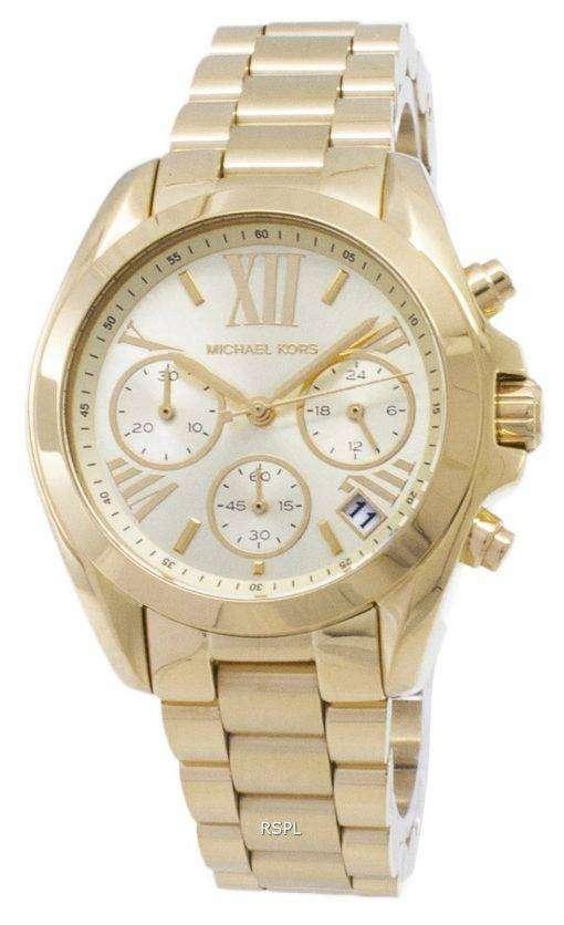 Michael Kors Bradshaw クロノグラフ MK5798 レディース腕時計