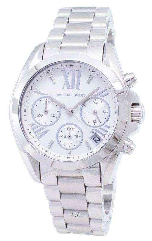 Michael Kors ブラッド ショー クロノグラフ シルバー ダイヤル MK6174 レディース腕時計