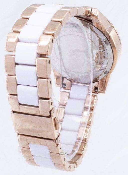 マイケル Kors リッツ クォーツ クロノグラフ クリスタル アクセント MK6324 レディース腕時計