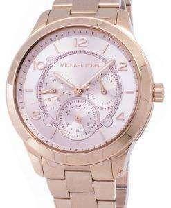 ミハエル Kors 滑走路 MK6589 クォーツ レディース腕時計