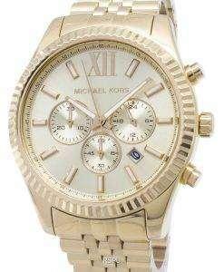 Michael Kors レキシントン シャンパン ダイヤル MK8281 メンズ腕時計