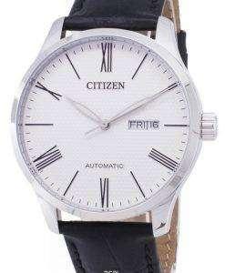 市民自動 NH8350 08A アナログ メンズ腕時計