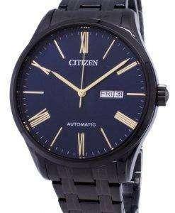 市民自動 NH8365-86 M アナログ メンズ腕時計