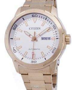市民自動 NH8373 88 a アナログ メンズ腕時計
