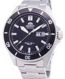 オリエント真子 3 RA AA0008B09C スポーツ ダイバー 200 M 日本製メンズ腕時計