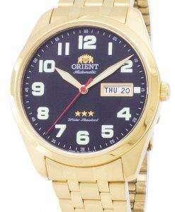 男性用の腕時計を作った東洋 3 つ星 SAB0C004B9 自動日本