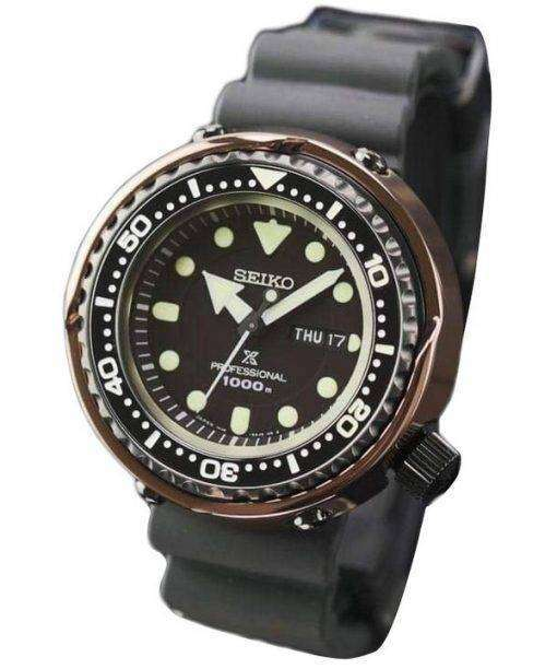 1000 M メンズ腕時計セイコー マリン マスター SBBN042 チタン限定版日本