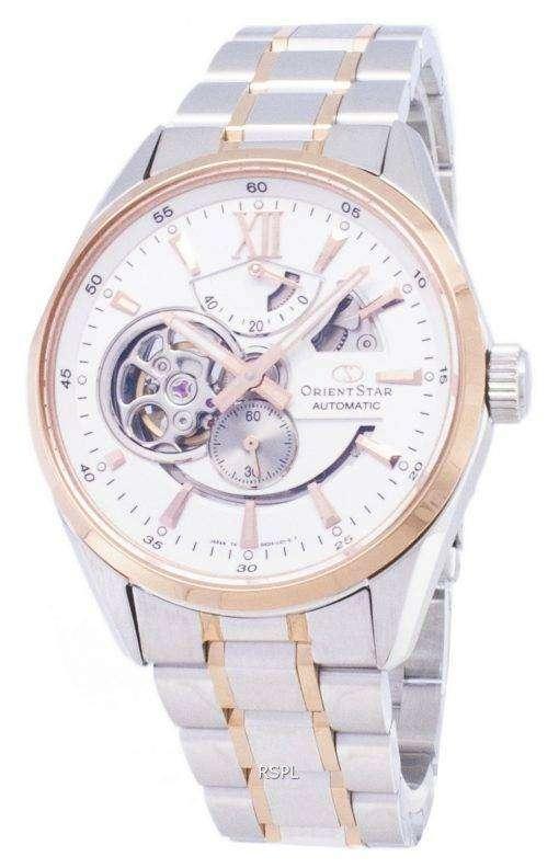 オリエント スター SDK05001W パワー リザーブ日本製メンズ腕時計