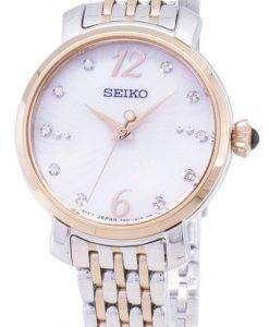 セイコー SRZ524 SRZ524P1 SRZ524P 石英アナログ女性の腕時計