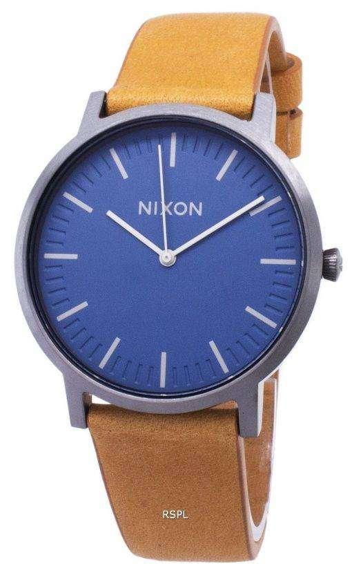 ニクソン ポーター a 1058-2854-00 アナログ クオーツ メンズ腕時計