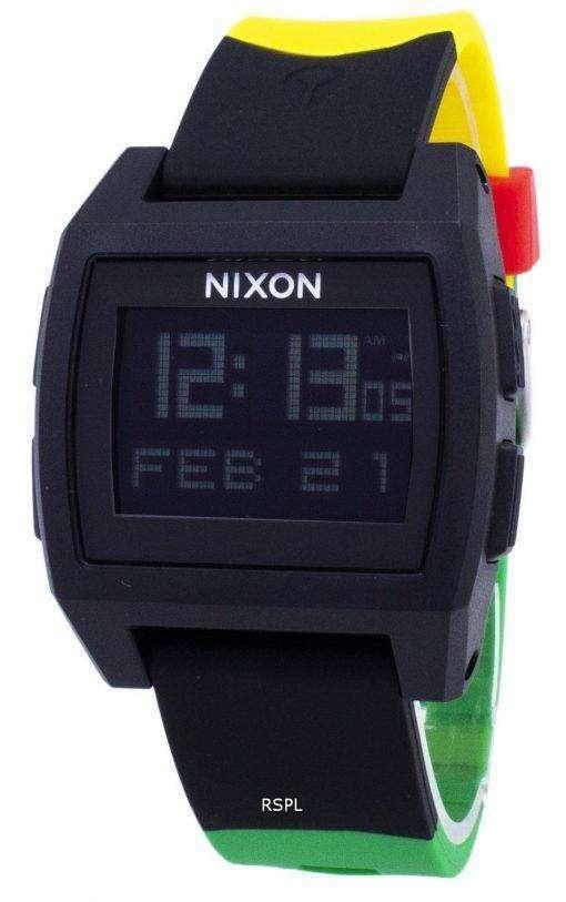 ニクソン基本潮 A1104-1114-00 デジタル クオーツ メンズ腕時計