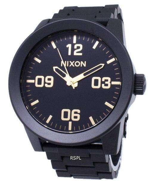 ニクソン伍長 SS A346-1041-00 アナログ クオーツ メンズ腕時計