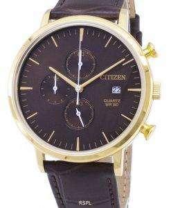 シチズンクォーツ クロノグラフ AN3612 09 X アナログ メンズ腕時計