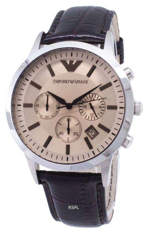 エンポリオアルマーニ クラシック クロノグラフ クォーツ AR2433 メンズ腕時計