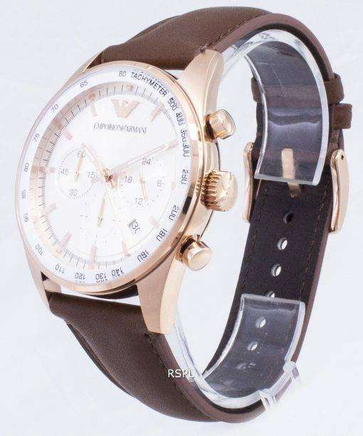 エンポリオ ・ アルマーニのスポルティーボ クロノグラフ タキメーター石英 AR5995 メンズ腕時計