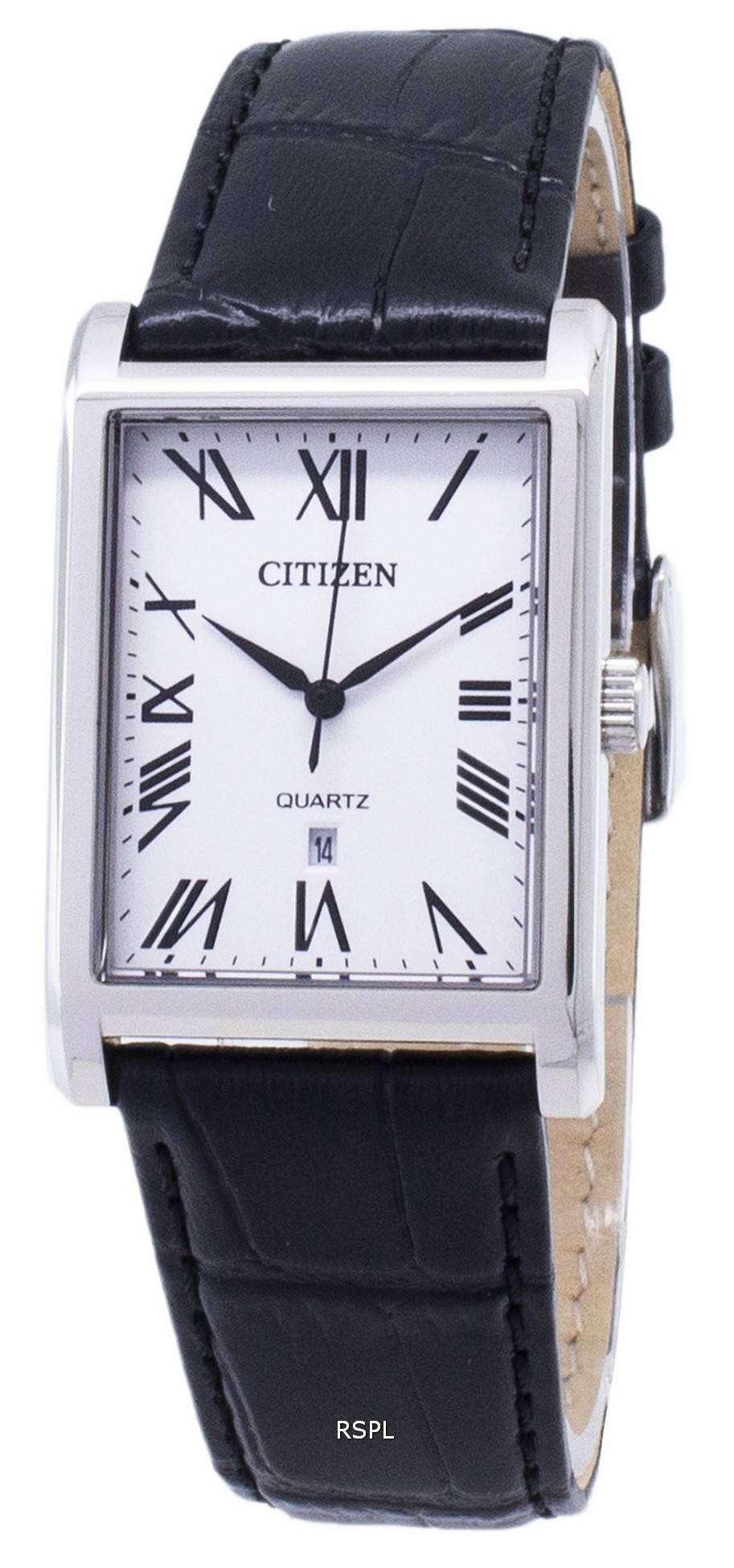 市民石英 BH3000 09A アナログ メンズ腕時計