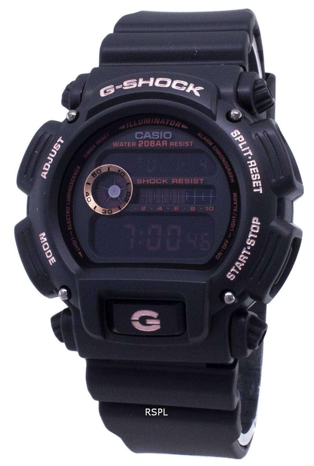カシオ G-ショック DW 9052GBX 1A4 DW9052GBX 1A4 デジタル 200 M メンズ腕時計
