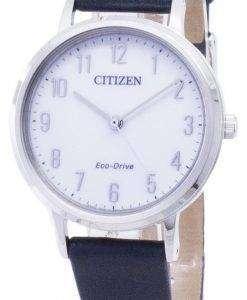 市民エコドライブ EM0571 16 a アナログ レディース腕時計
