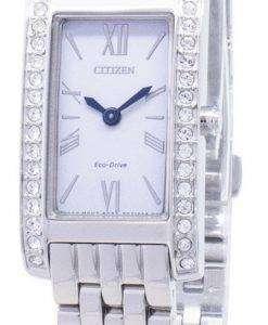 市民エコ ・ ドライブ EX1470-86 a ダイヤモンド アクセント アナログ レディース腕時計