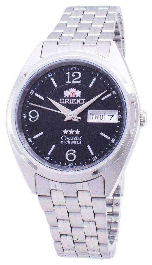 3 つ星の自動 FAB0000EB アナログ メンズ腕時計をオリエントします。
