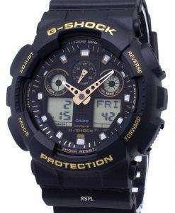 カシオ G-ショック-100GBX-1A9 GA100GBX 1A9 アナログ デジタル 200 M メンズ腕時計
