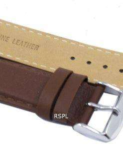 茶色比ブランド革ストラップ SKX007、SKX009、skx011 腕時計、SNZG07、SNZG015 の 22 mm