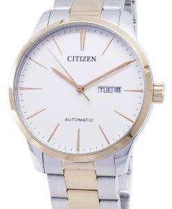 市民自動 NH8356 87A アナログ メンズ腕時計