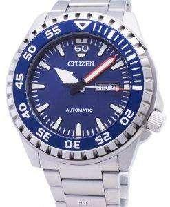 市民自動 NH8389-88 L アナログ メンズ腕時計