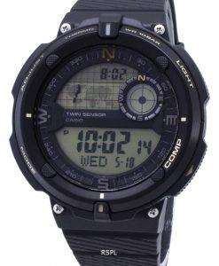 カシオ屋外 SGW 600 H 9A SGW600H 9A ツイン センサー水晶デジタル男性用の腕時計
