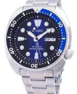 セイコー プロスペックス カメ SRPC25 SRPC25J1 SRPC25J ダイバーズ 200 M 自動メンズ腕時計腕時計