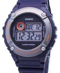 カシオ青年 W 216 H 2BV W216H 2BV 照明器具石英ユニセックス腕時計