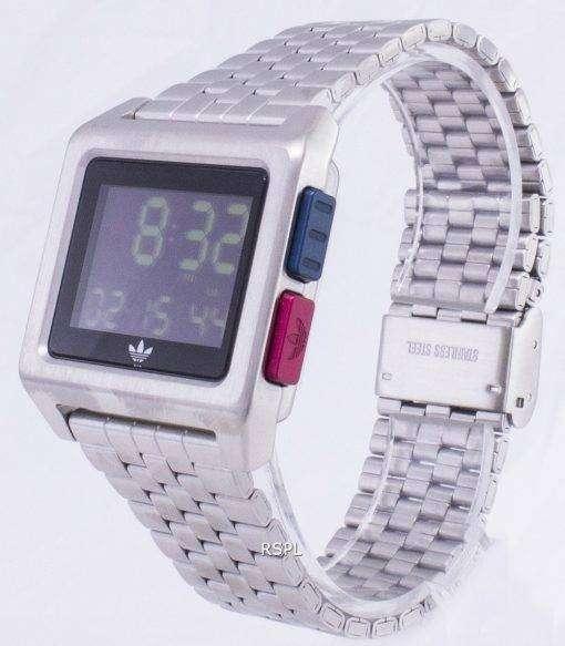 アディダス アーカイブ M1 Z01-2924-00 水晶デジタル メンズ腕時計