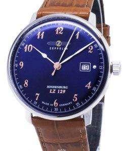ツェッペリン型飛行船シリーズ LZ129 7048 3 70483 ドイツ製メンズ腕時計