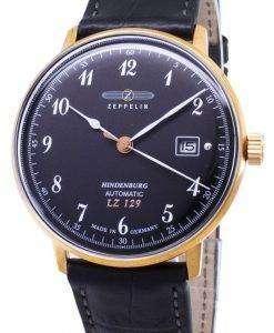ツェッペリン型飛行船シリーズ LZ129 7068-2 70682 自動ドイツ製メンズ腕時計
