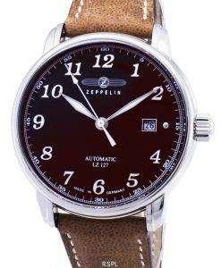 ツェッペリン型飛行船シリーズ LZ127 グラーフ 8656 3 86563 ドイツ製メンズ腕時計