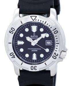 比 II 無料ダイバー プロフェッショナル 200 M クオーツ 22AD202 メンズ腕時計
