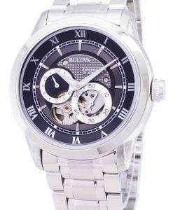 ブローバ自動 BVA シリーズ デュアル絞りダイヤル 96A119 メンズ腕時計