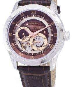 ブローバ自動 BVA シリーズ デュアル絞りダイヤル 96A120 メンズ腕時計