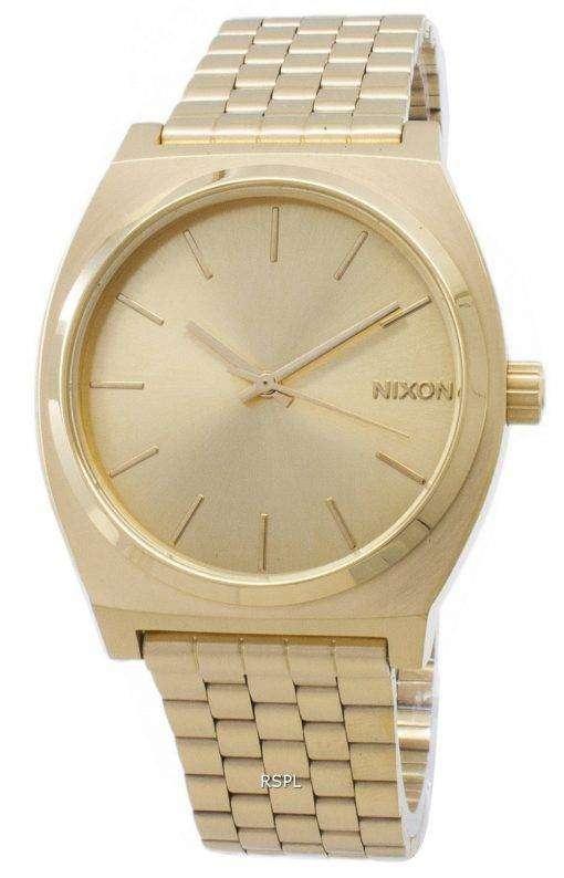 ニクソン タイムテラーすべてゴールド A045-511-00 メンズ腕時計