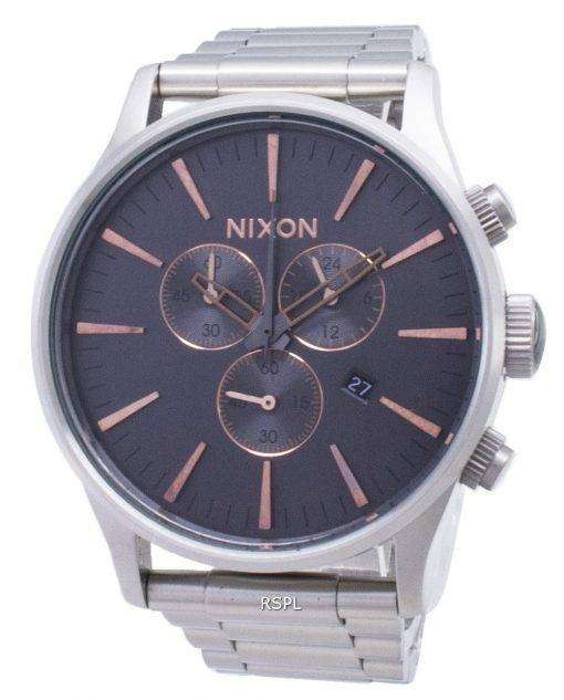 ニクソン歩哨クロノクォーツ A386-2064-00 メンズ腕時計