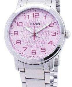 カシオ石英 LTP E159D 4B LTPE159D 4B アナログ レディース腕時計